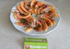 Carpaccio de melon - Veronique C.