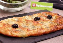 Pizza au roquefort - MARIE BLACHERE