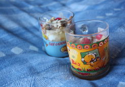Verrine fromage blanc/salade de fruits/Spéculoos - Marina S.