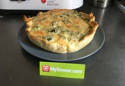 Quiche saumon et brocolis  - Laura C.