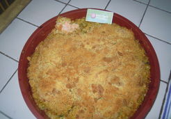 Crumble saumon courgettes - Marie T.