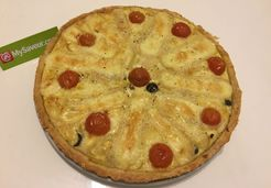 Quiche aux 3 fromages - Najwa N.