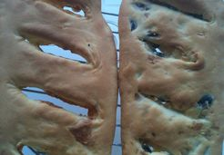 Fougasse au thermomix - Valérie C.