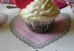 Cupcakes Chocolat Gingembre & Chantilly [St Valentin] - Stephanie C.