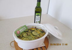 Terrine de courgettes au curry et curcuma - YANNICK V.