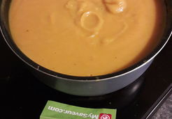 Soupe butternut patate douce et coco - Isabelle T.