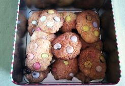 Cookies aux smarties - Magali G.