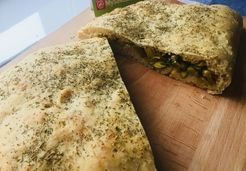 Focaccia courgettes et curry - Adeline A.