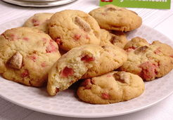 Cookies aux pralines roses - Christelle G.