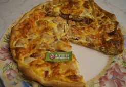 Quiche poulet bacon  - Celine T.