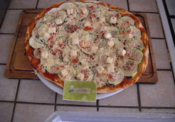 Pizza courgettes - Lucie O.