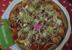 Pizza aux 3 fromages - Christiane C.