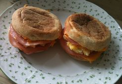 Bacon and egg muffins - Florent R.