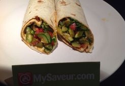 Wrap piperade - Carine R.